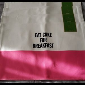 Kate Spade placemats. pack of 4